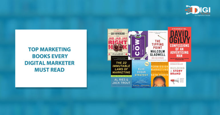 Top Marketing Books Every Digital Marketer Must Read Without Fail