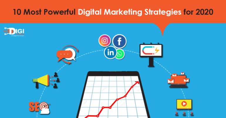 10 Most Powerful Digital Marketing Strategies for 2020
