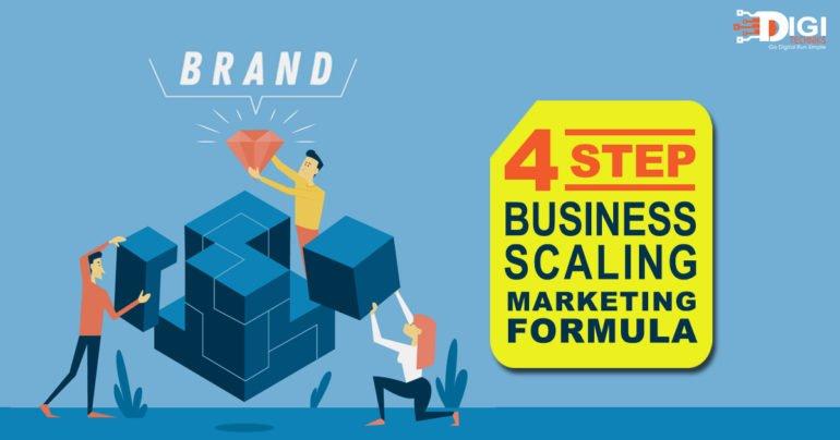 4 Step Business Scaling Marketing Formula