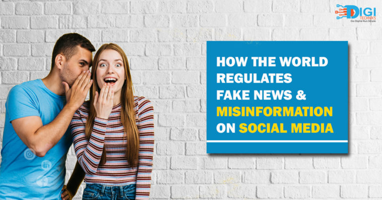 How The World Regulates Fake News & Misinformation on Social Media